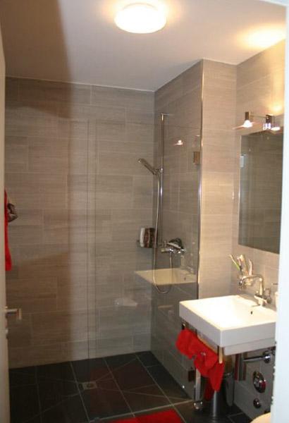 Ferienwohnung in Davos Dusche WC
