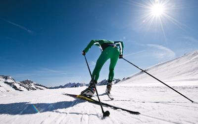 Ferienwohnung Davos Langlauf Langlaufloipe in der Nähe
