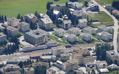 Ferienwohnung Davos optimale Lage Davos Dorf